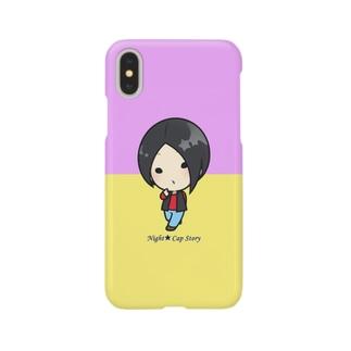 ヨルモノスマホケース・くーちゃん Smartphone cases