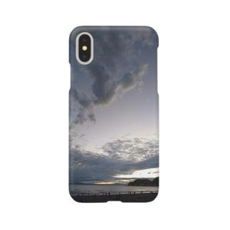 秋の海と空 Smartphone cases