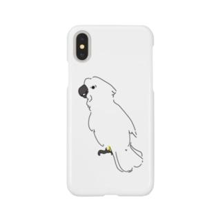 タイハクオウム Smartphone cases