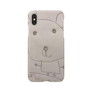 くまりんケース Smartphone cases