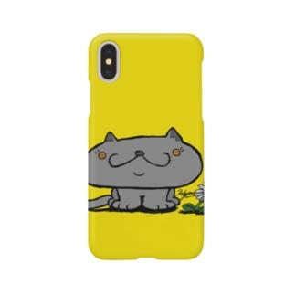 ねこやん① Smartphone cases