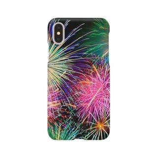 花火の思い出 Smartphone cases