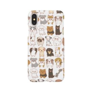 わんわん🐾たくさん🐾 Smartphone cases