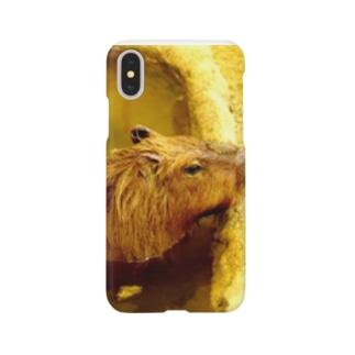 カピパラ Smartphone cases
