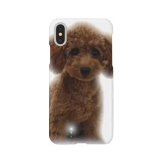 うるうるプードル Smartphone cases