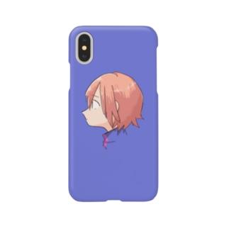 シャケよこがおスマホヶ Smartphone cases