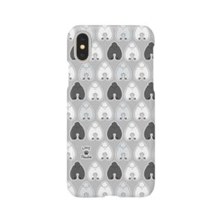 モノクロプー Smartphone cases