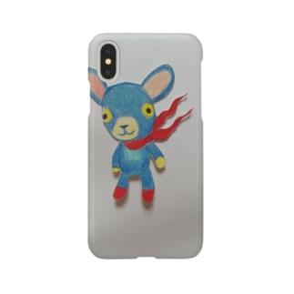 Weのブルーパンチ Smartphone cases