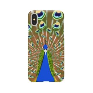 インドの国鳥 Smartphone cases