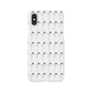 カンフーショウジョパターン Smartphone cases