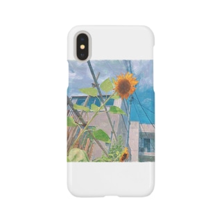 「ひまわり」 Smartphone cases