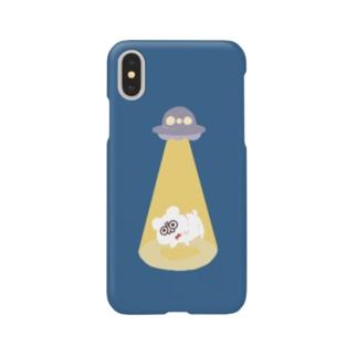 UFOナイト・テディ轟 Smartphone cases