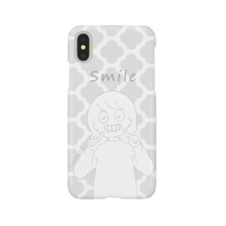 ◎ シンプルガール Smartphone cases