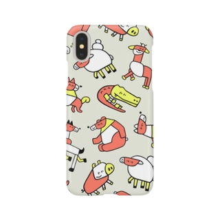 ASSEMBLING ANIMALS Smartphone cases