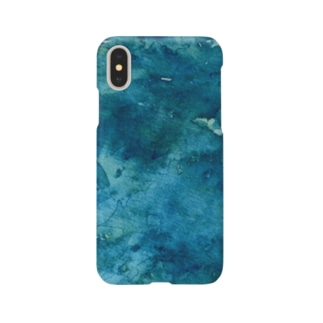 Night water color .Xs .X Smartphone cases
