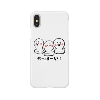 お餅ちゃん、3兄弟 Smartphone cases
