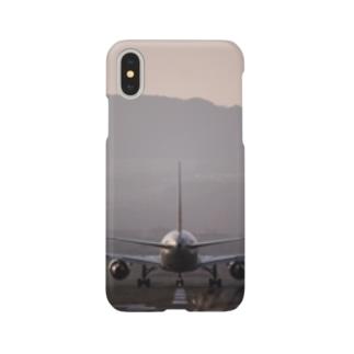 空の世界へ Smartphone cases