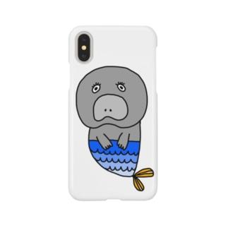 マーメイドジュゴン Smartphone cases