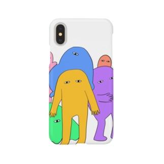 にゅーたんと(からー) Smartphone cases