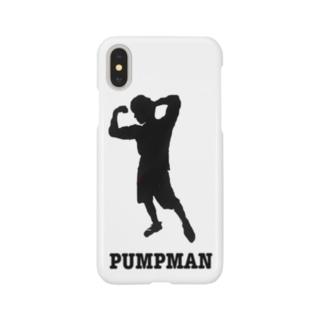 PUMPMAN(黒マーク) Smartphone cases