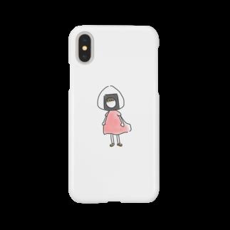 ponchiのおにぎりちゃんと Smartphone cases