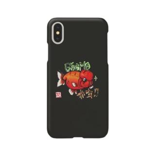 【金魚】ランチュウ~ギブミー!!!~ Smartphone cases