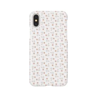にゃんグラム Smartphone cases