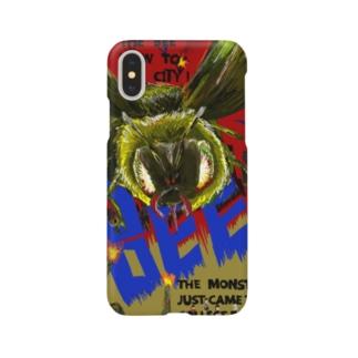 大怪獣セイヨウミツバチ Smartphone cases