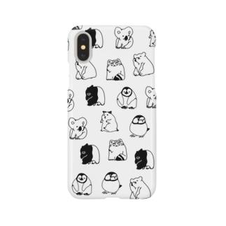 ゆるちんじゅうず Smartphone cases
