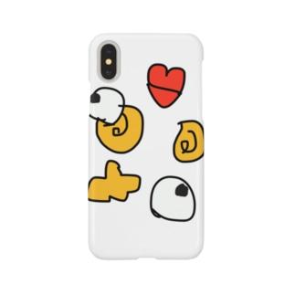 福笑い3回目 Smartphone cases