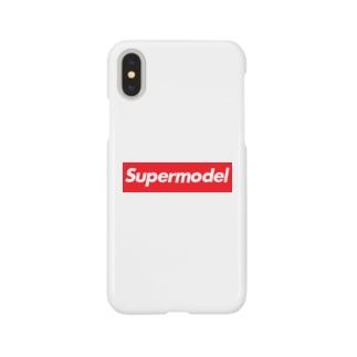 Supermodel ( スーパーモデル )  Supreme風  Smartphone cases