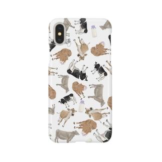 乳牛🐄いっぱい Smartphone cases