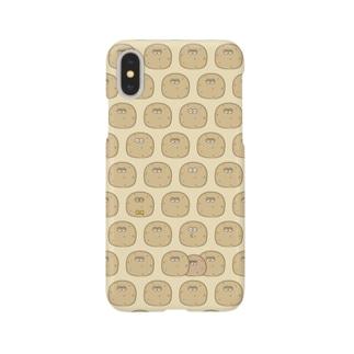 たまこんにゃくんがいっぱい/ハードタイプ Smartphone cases