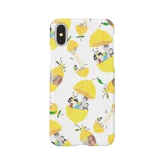 トコロコムギのフルーツアニマル・レモン Smartphone cases