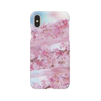 QUALIA of X 春のワンダー Smartphone cases