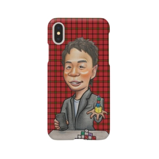 大道芸人すごろくスマホケース Smartphone cases