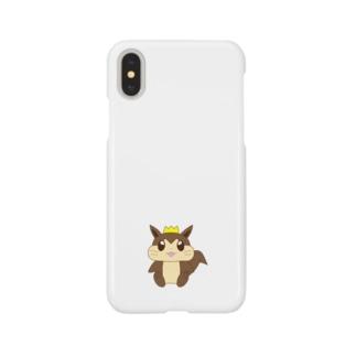 時和のリスくん Smartphone cases