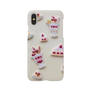 pulpy。のスイーツパーラー Smartphone cases