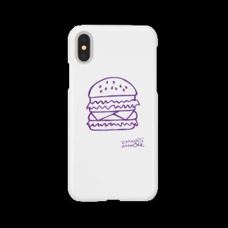 nanaseiartworkのハンバーガー Smartphone cases