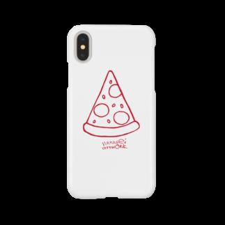 nanaseiartworkのピザ Smartphone cases