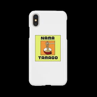 MASHIMASHIのNAMATAMAGO Smartphone cases