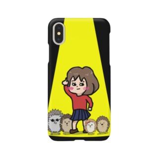 ハリネズミフィーバー Smartphone cases