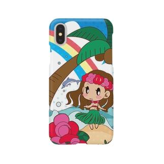 みずたまフラガール Smartphone cases