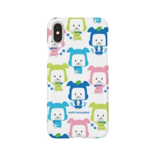 忍者犬たろうくん_集合B Smartphone cases