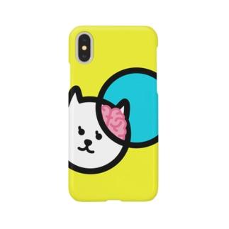 yusugomoriの【グロカワ】 ノウネコ iPhoneケース Smartphone cases