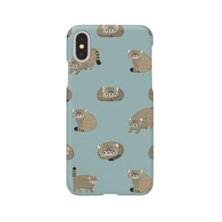 マヌルネコ Smartphone cases