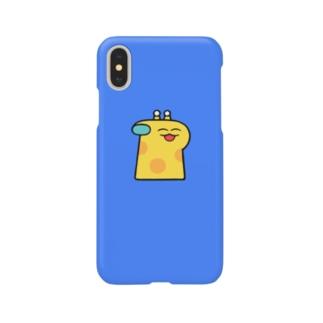 ヒグチキョウカのきりん Smartphone cases