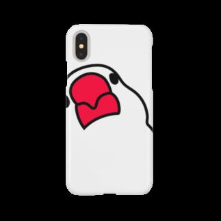 文鳥'sの文鳥スマホケース iPhoneX/XS Smartphone cases