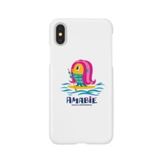 アマビエちゃん Smartphone cases