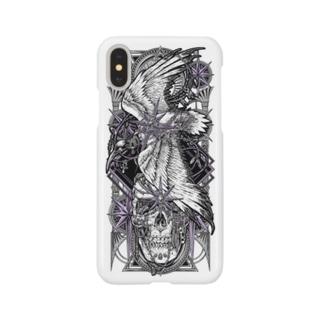 TAROT - THE STAR. White Smartphone cases